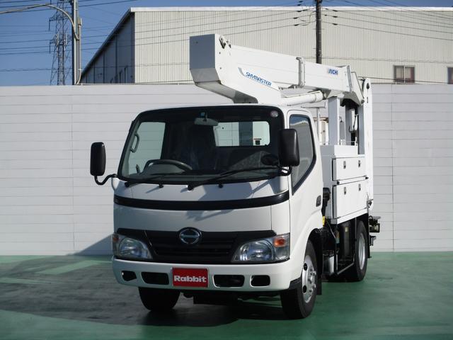 日野 高所作業車 アイチ製SE10A 作業床9.9m