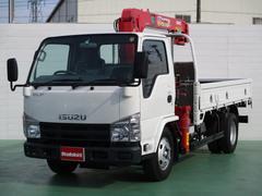 エルフトラック3段クレーンラジコン付 積載3t 標準ロング