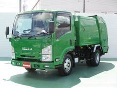 エルフトラック3.0Dターボ 回転式パッカー車 4.4立米2.95t積