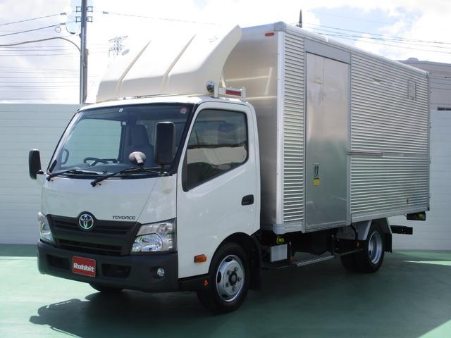 トヨタ 4.0Dターボ ワイドロング アルミバン2t積