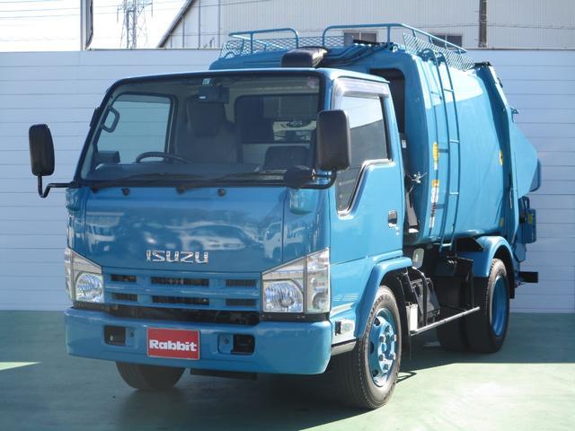 いすゞ プレス式パッカー車 4.3立米 3.15t積