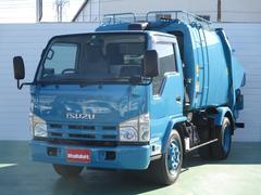 エルフトラックプレス式パッカー車 4.3立米 3.15t積