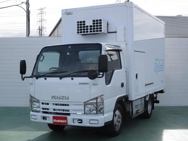 いすゞ ハイブリッド パネルバン-30℃設定冷蔵機 1.65t積