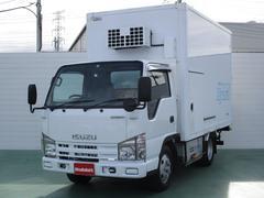 エルフトラックハイブリッド パネルバン−30℃設定冷蔵機 1.65t積