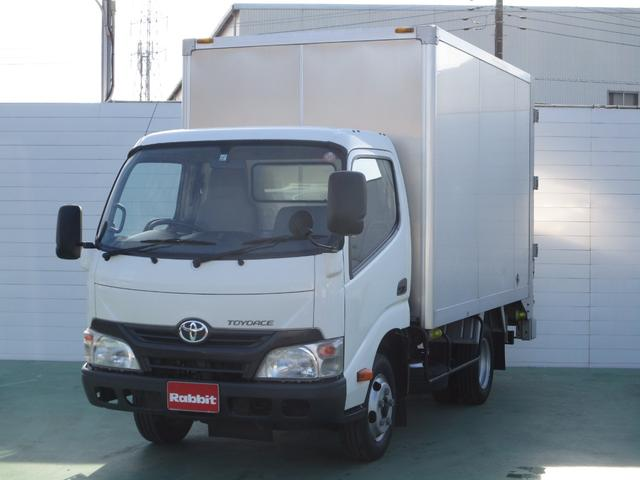 トヨタ トヨエース アルミバン スライドリフト付き 積載2t