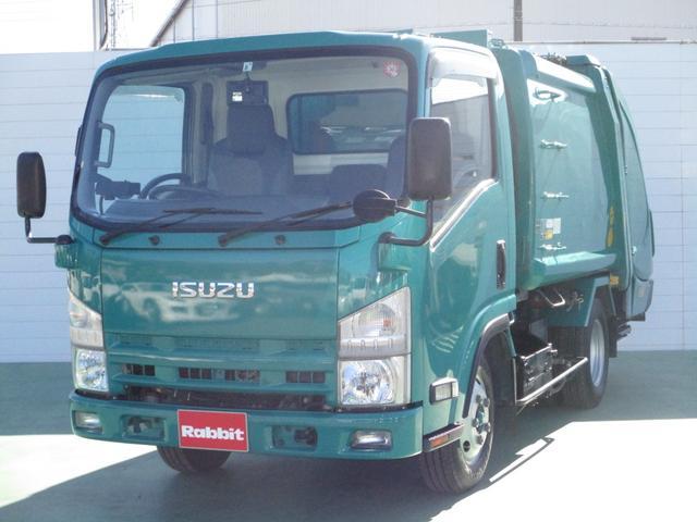 いすゞ 3.0Dターボ プレス式パッカー車 4.3立米 2t積