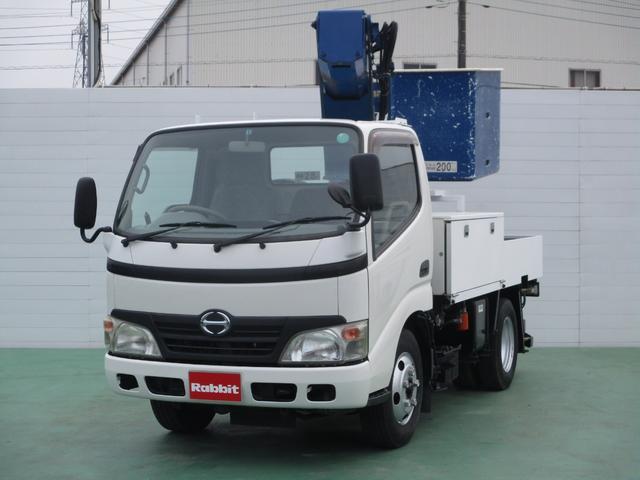 日野 デュトロ 4.0Dターボ 高所作業車 9.7m アイチSS...