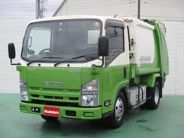 いすゞ 3.0DHVターボ プレス式パッカー車 4.0立米2t積