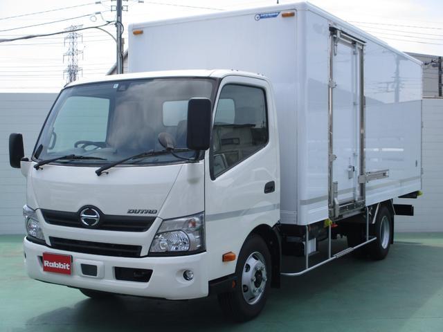日野 4.0Dターボ ワイド超ロング保冷車 4.1t積 プリクラ