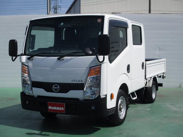 日産 Wキャブ スーパーロー 1.25t積 ガソリン車