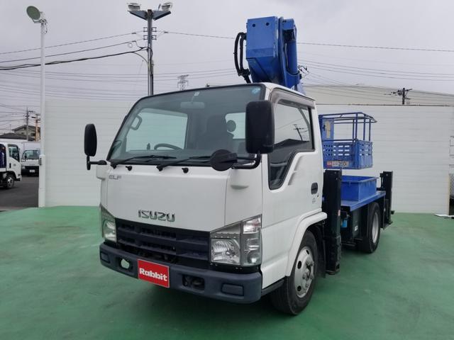 いすゞ 高所作業車 アイチ製SB12A 12m ブーム自動格納