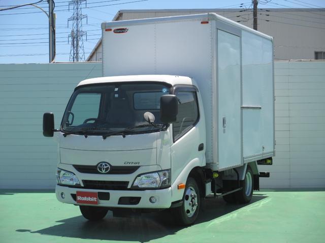 トヨタ 4.0Dターボ アルミバン 2t積 バックモニター