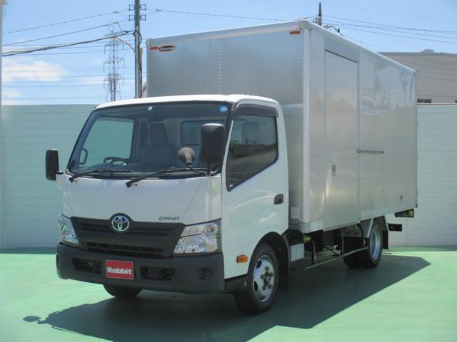 トヨタ 4.0Dターボ ワイドロング アルミバン2t積 サイドドア付