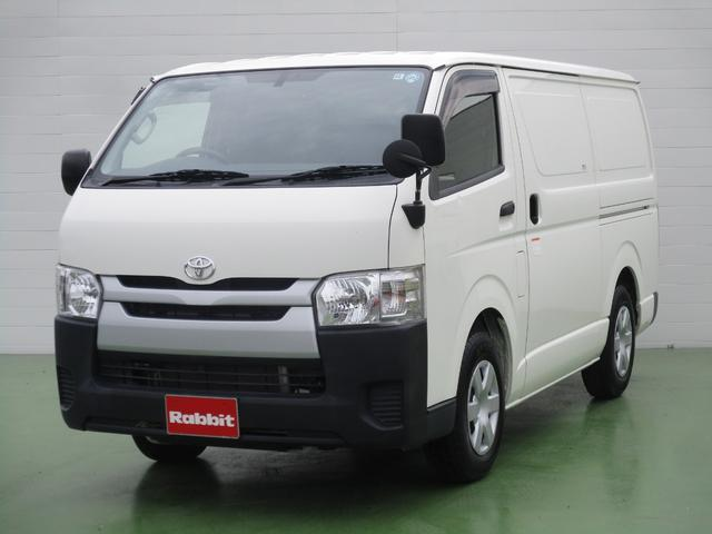 トヨタ 2.0ガソリン車 4ドア 低床 冷蔵冷凍車 クーリングバン