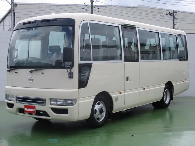 日産 シビリアンバス 4.5ガソリン車 ロングSX29人乗り 電動ドア ナビTV
