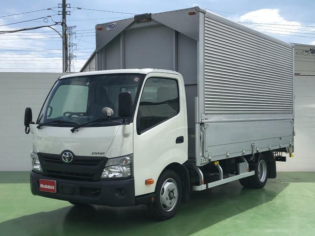 トヨタ 4.0Dターボ アルミウイング 3t積 プリクラ 5MT