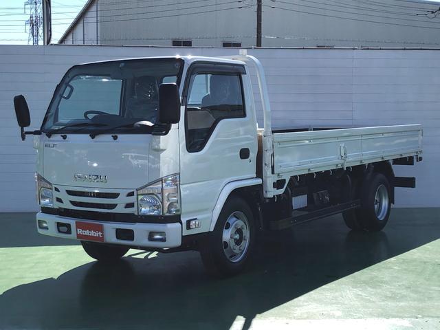 いすゞ エルフトラック ロング 標準ロング 高床 4t積 プリクラッシュブレーキ 6MT HSA