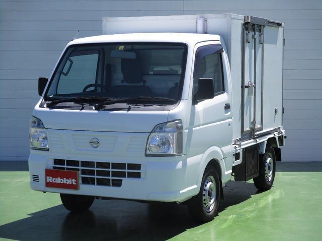 日産  冷蔵冷凍車 -25℃設定 2コンプレッサー サイドドア 5MT