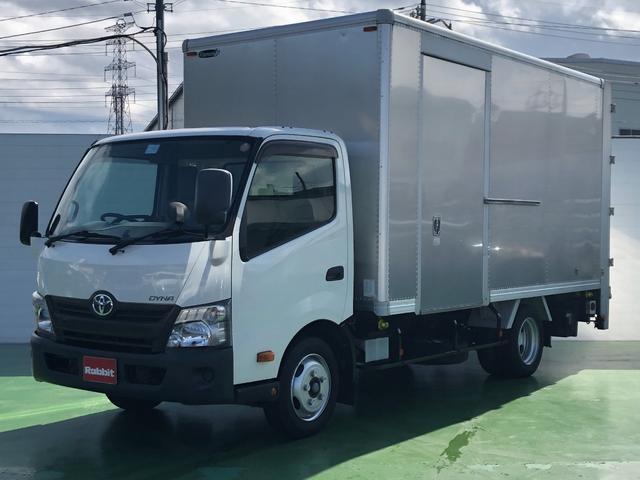 トヨタ ダイナトラック  4.0Dターボ ワイドロング アルミバン スライドリフト付 積載2t