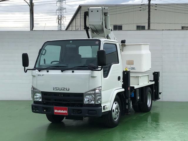 いすゞ エルフトラック  3.0Dターボ アイチ製高所作業車 SB12A 12m
