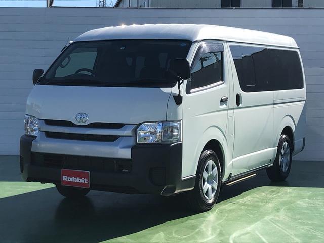 トヨタ ハイエースワゴン DX 2.7ガソリン車 4WD 10人乗り 送迎仕様 オートステップ
