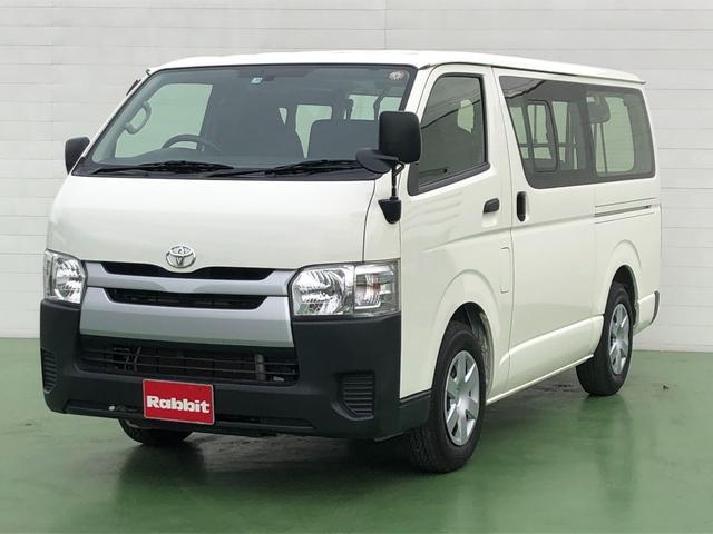トヨタ ロングDX 2.0ガソリン車 9人乗り 4ドア リヤクーラー