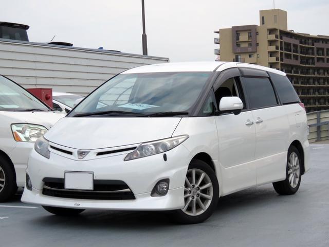 トヨタ 2.4アエラス Gエディション フルセグメモリーナビ