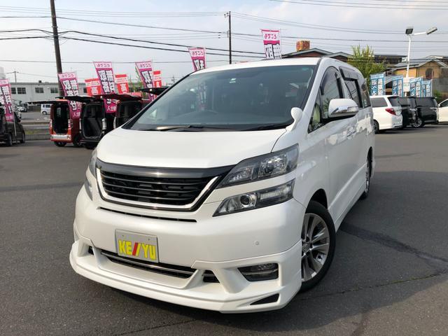 トヨタ 2.4Z プラチナムセレクション 純正ナビ 社外グリル