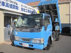 エルフトラック強化フルフラットローダンプ F5 AC PS PW 最積2t