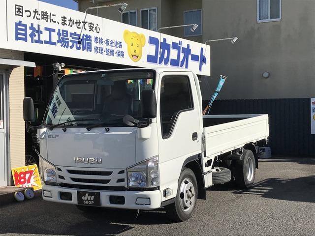 いすゞ フルフラットロー カロッツェリアナビTV・ETC・平ボディ・2t積載