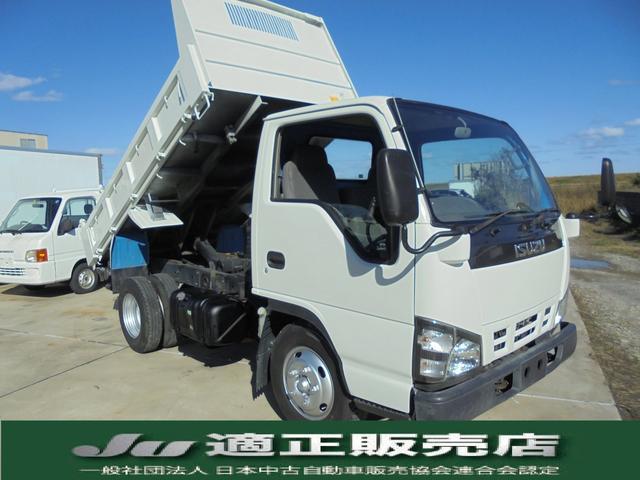 いすゞ 強化ダンプ 積載量3トン 4ナンバー 高床 色替全塗装