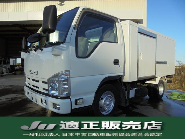 いすゞ 冷蔵冷凍車 積載量1.5トン 低温 -30度設定
