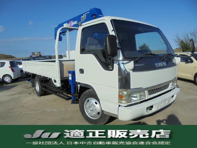 いすゞ タダノ 5段クレーン ラジコン 3トン
