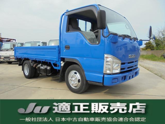 いすゞ エルフトラック フルフラットロー 積載量1.5トン 全塗装仕上済