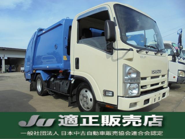 いすゞ 塵芥車 新明和 プレスパッカー 積載量2トン