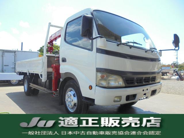 トヨタ  ユニック4段クレーン 2.9t吊 積載量3t