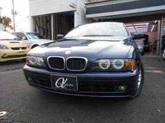 BMW525iハイライン 後期モデル 黒革シート 純正DVDナビ