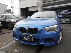 BMW120i Mスポーツ 黒革シート 純正HDDナビ ETC