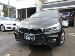 BMW218dグランツアラー Mスポーツ 純正HDDナビ ETC