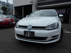 VW ゴルフTSIハイライン ワンオーナー ACC 純正ナビ