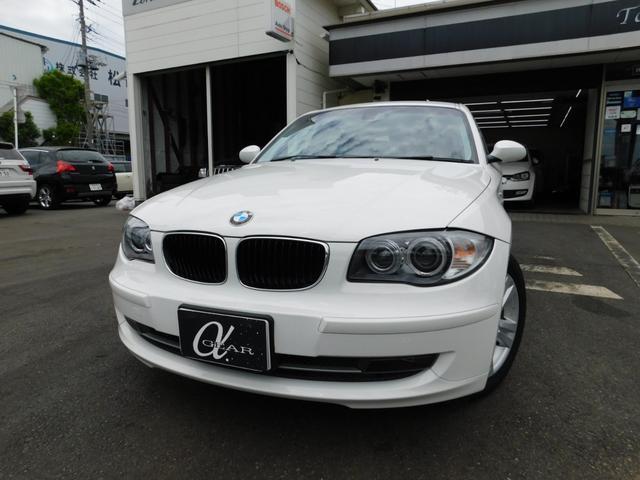 BMW 120i ワンオーナー 社外HDDナビ フルセグTV