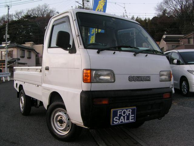 スズキ KU 4WD 5速MT サイドエアロ 三方開