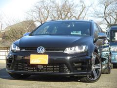 VW ゴルフRヴァリアントベースグレード ワンオーナー 禁煙車 本革シート フルセグ