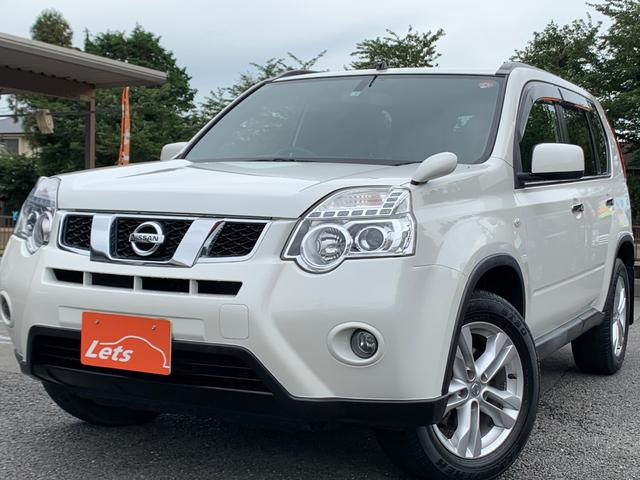 日産 20X 1オーナー車 ナビ ETC シートヒーター 4WD