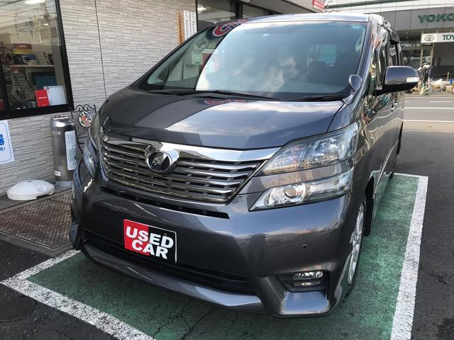 トヨタ 2.4Z プラチナムセレクション 純正HDDナビ 後席モニタ