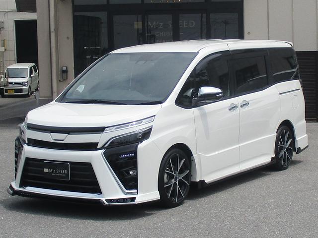 トヨタ ZS 煌 M'z新車コンプリート エアロ ダウンサス18AW