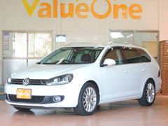 VW ゴルフヴァリアント2.0TSI スポーツライン 1年保証 HDDナビ フルセグ