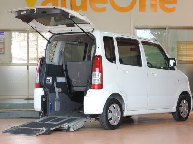 スズキ ワゴンR スローパー 1年保証 車椅子電動固定装置 2列目...