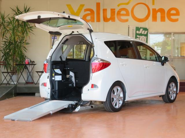 トヨタ G 1年保証 スローパー 車高降下装置 車いす移動車 ナビ