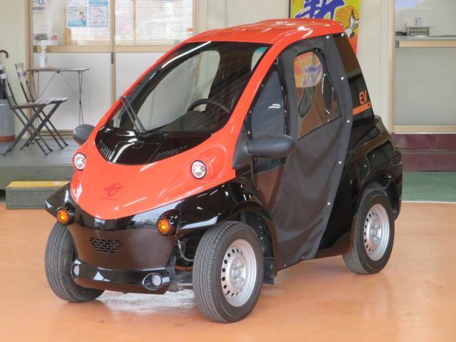 トヨタ ベースグレード コムス  新品キャンパスドア ミニカー登録で普通免許でOK 家庭用100Vで充電OK100Vケーブル